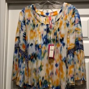 Anthropologie Tracey Reese boho blouse